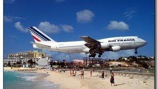 Der gefährlichste Flughafen der Welt - Meine Videos vom Maho-Beach aus St. Maarten