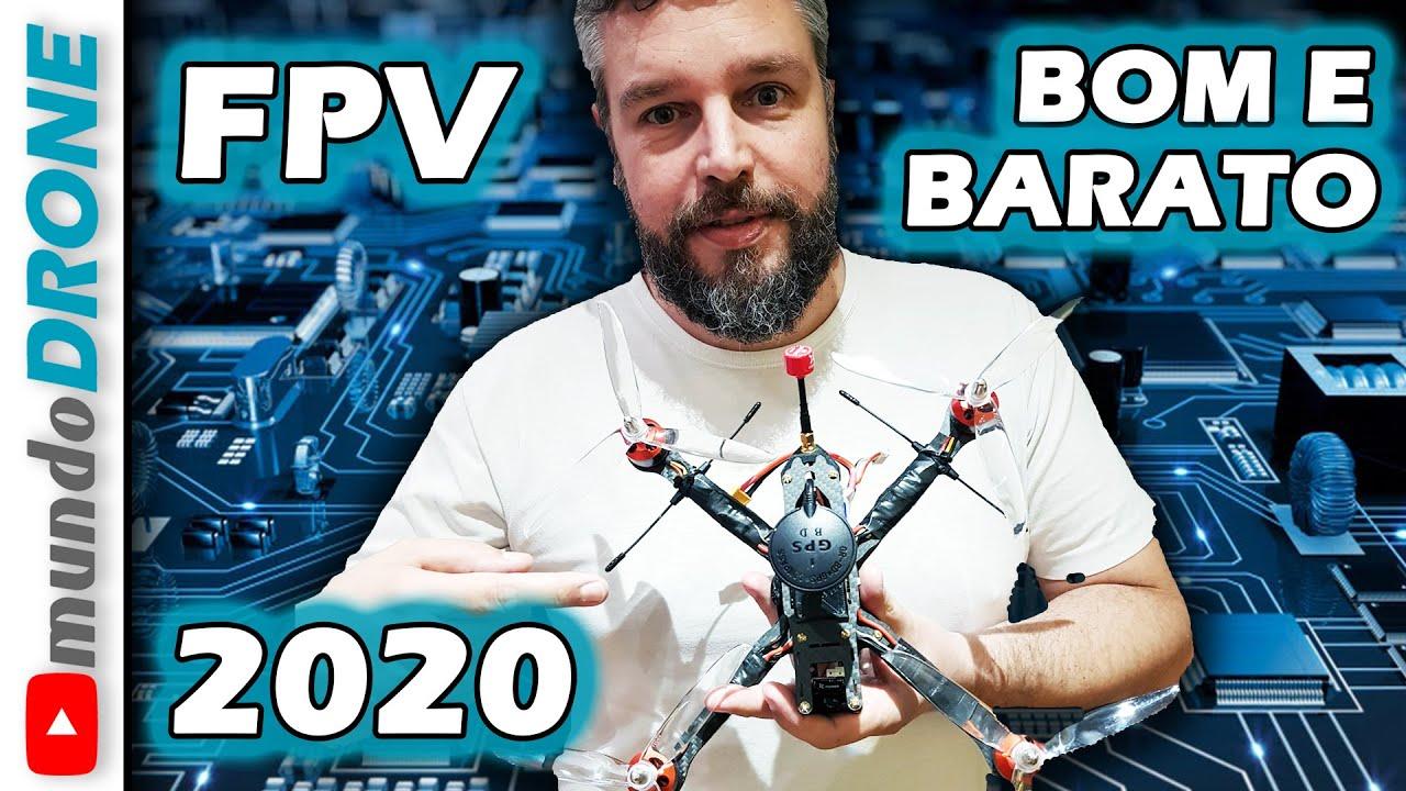 Drone FPV BOM e BARATO 2020 - Lista de Peças