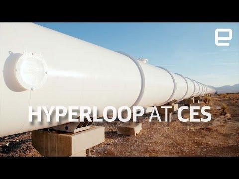 Hyperloop Test Track Tour At CES 2018