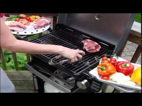 [Best Price] Cuisinart All Foods 12,000 BTU Portable Outdoor Tabletop  Propane Gas Grill