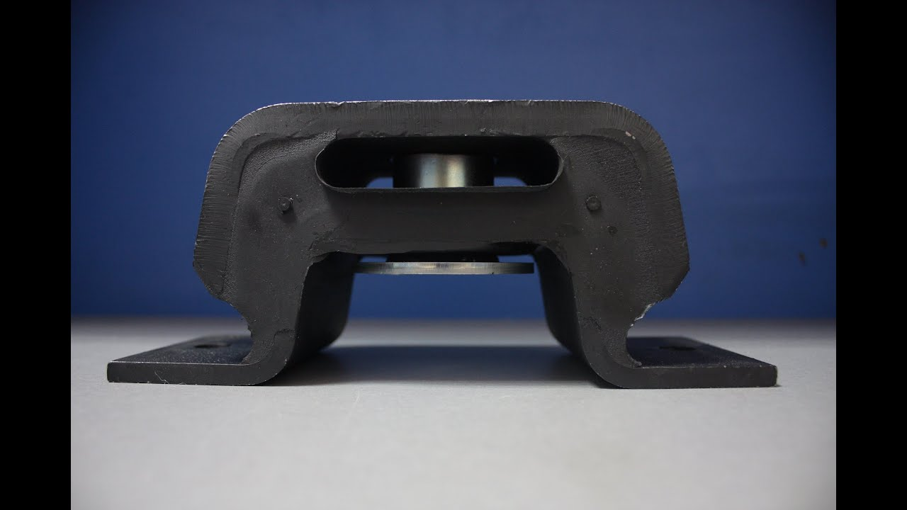 подушка,опора двигателя задняя на рено магнум