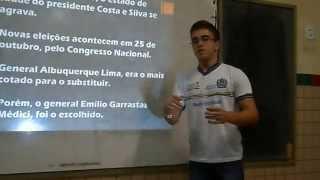EREMTT – 3ºB 2014 (3) Ditadura Militar no Brasil