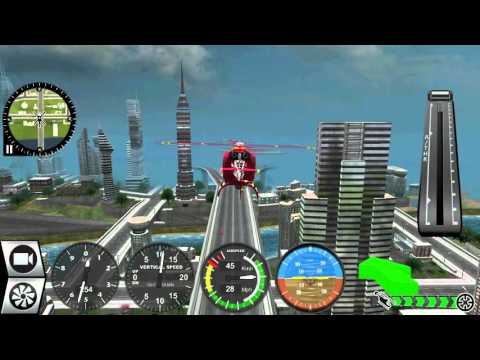 Helicopter Simulator 2016 Free - Android Gameplay