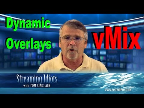 [vMix] Full overlay Tutorial /w animation | FunnyDog.TV