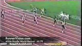 400m Hurdle World Record - 46.79