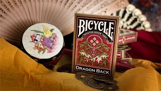 Обзор колоды Bicycle Dragon Back // Deck review (ОБУЧЕНИЕ ФОКУСАМ)