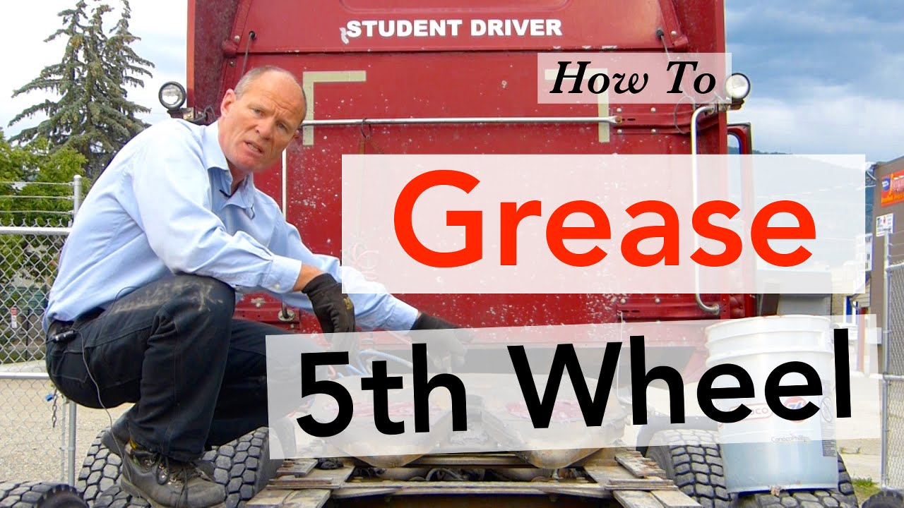 How to Grease 5th Wheel | Trucking Smart