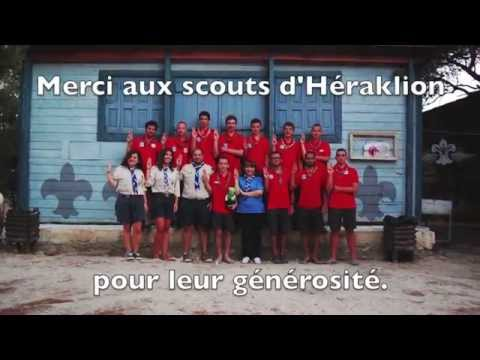 Belgian Scout in Crete travel Camp 2014