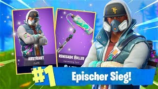WIN WITH NEW GRAFFITI SKIN! *EPISCH* (Fortnite Battle Royale English)