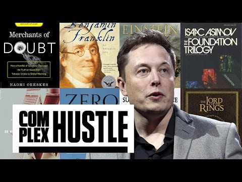 Elon Musk Says These 8 Books Helped Make Him Billions