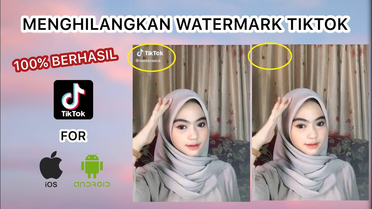 Update Cara Menghilangkan Watermark Tiktok Android Ios Youtube
