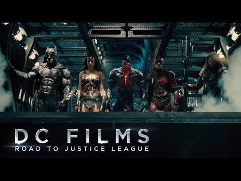 DC Films: Road to Justice League - DCEU Tribute/Recap [HD]
