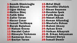AK Partide listeler belli oldu (19.02.2019)