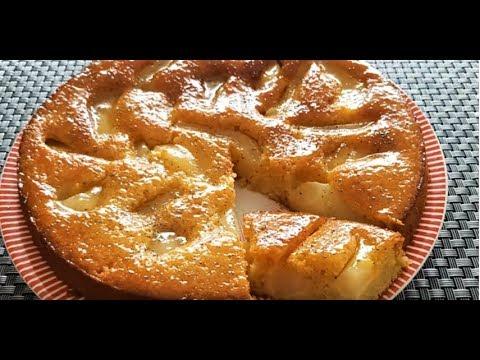 recette-gâteau-poire-amande