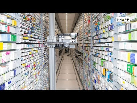 KNAPP AG – KNAPP-Store (High storage density, low storage location costs)