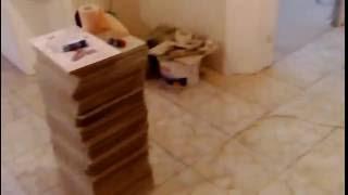 Наш ремонт квартиры в новостройке. Часть 7. Постелили плитку.
