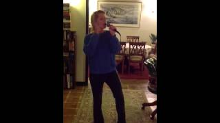 "Me Singing ""listen"" By Beyonce - Ali Browning"