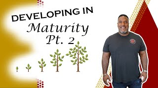 Developing In Maturity (Part II)