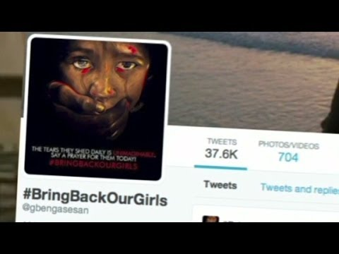 Social media pushes for rescue of kidnapped Nigerian girls
