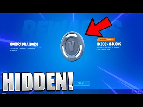 How To GET 10K Or 15K V-Buck Codes In Fortnite! (Secret Promotion)