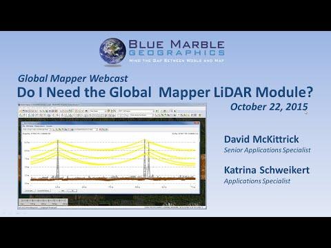 Do I Need the Global Mapper LiDAR Module?