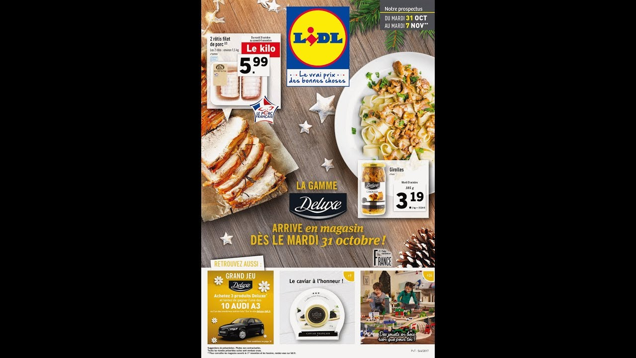 Lidl France 31 10 07 11 2017 Catalogue Youtube