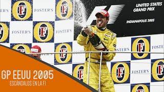 Escándalos en la F1 | GP EEUU 2005 [HD]