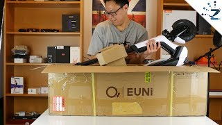 EUNI ES808 Electric Scooter Unboxing! Noice...
