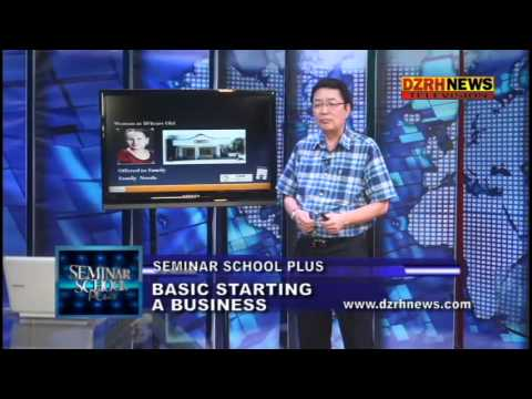 Seminar School Plus - Basics of Starting a Business