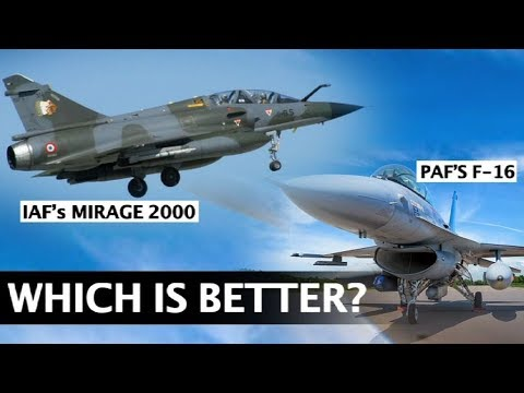 Mirage 2000 or F-16, which fighter jet is better? | NewsMo