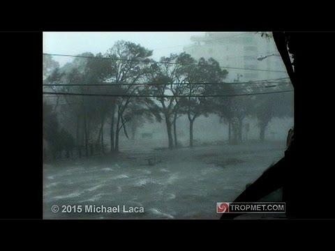 Hurricane Opal (High Quality) - Fort Walton Beach, Florida - October 4, 1995