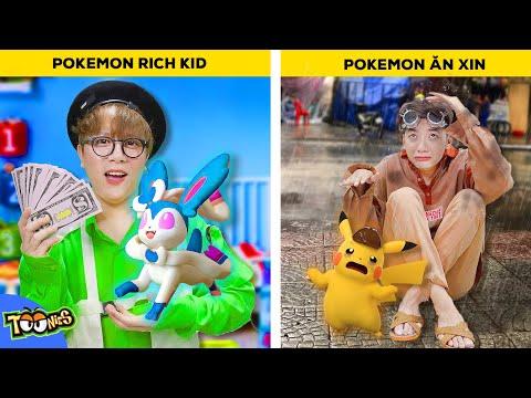 Rich Kid VS Ăn Xin - Đường Đua Huấn Luyện Viên POKEMON Siêu Cấp!