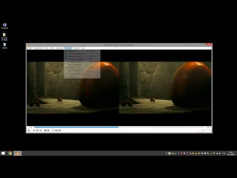 VLC: Come vedere film 3D in 2D senza conversione - TUTORIAL PC HD ITA HD