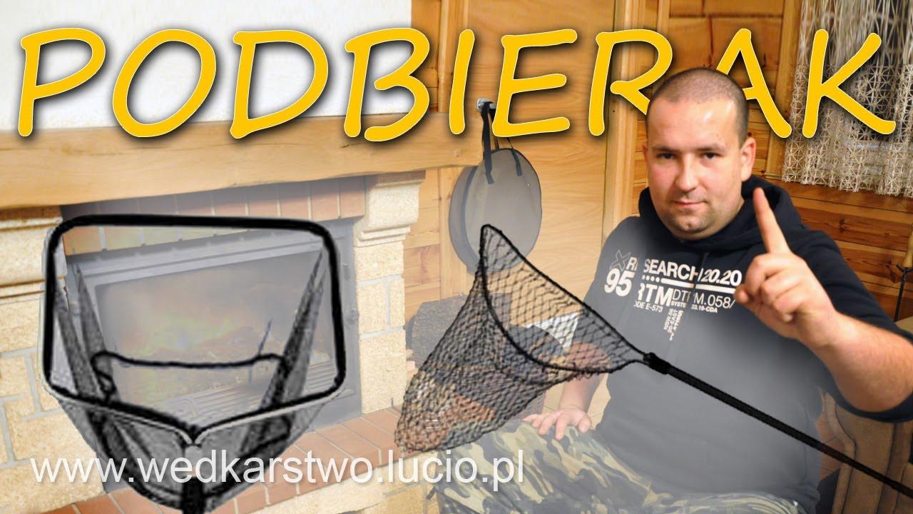 Podbierak 13 Poradnik Wędkarski Wędkarstwo Lucio Youtube