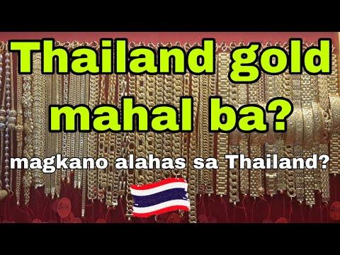Thailand gold   mahal ba ang alahas sa Thailand   Bangkok gold  
