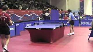 Настольный теннис. Игорь Рубцов - Ван Хао. Qatar Open-2010