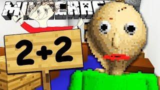 If BALDI'S BASICS Took Over Minecraft