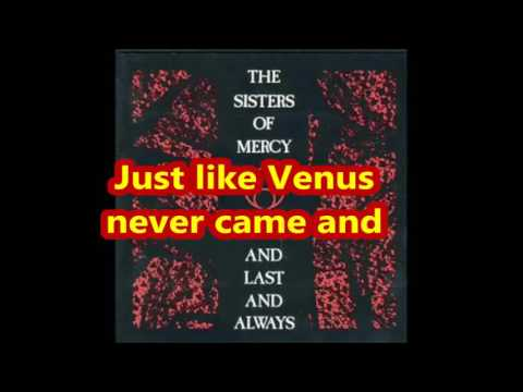 sisters of mercy   No time to cry Lyrics