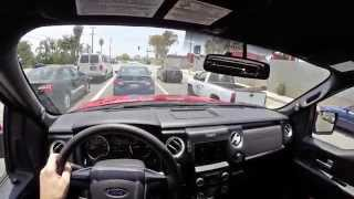 2014 Ford F-150 Tremor - WR TV POV City Drive
