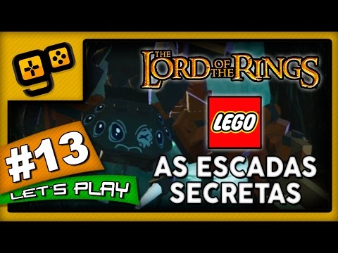 Let's Play: Lego Lord of The Rings - Parte 13 - As Escadas Secretas