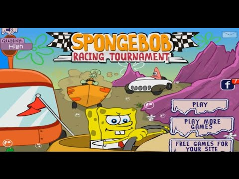 SpongeBob SquarePants Bikini Bottom Bust Up Game - Play