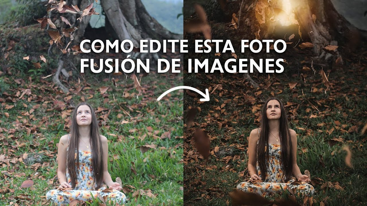 Como editar fotos en photoshop efectos para fotos youtube - Para disenar fotos ...