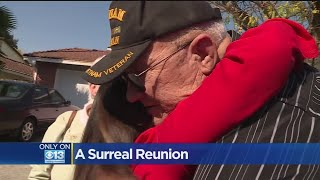 Surreal Reunion For Woman Who Was Saved From Burning Car