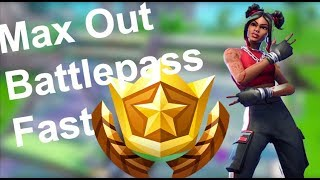 How to Unlock the Luxe Skin FAST in Fortnite Season 8 | How to Level up Battlepass FAST in Season 8