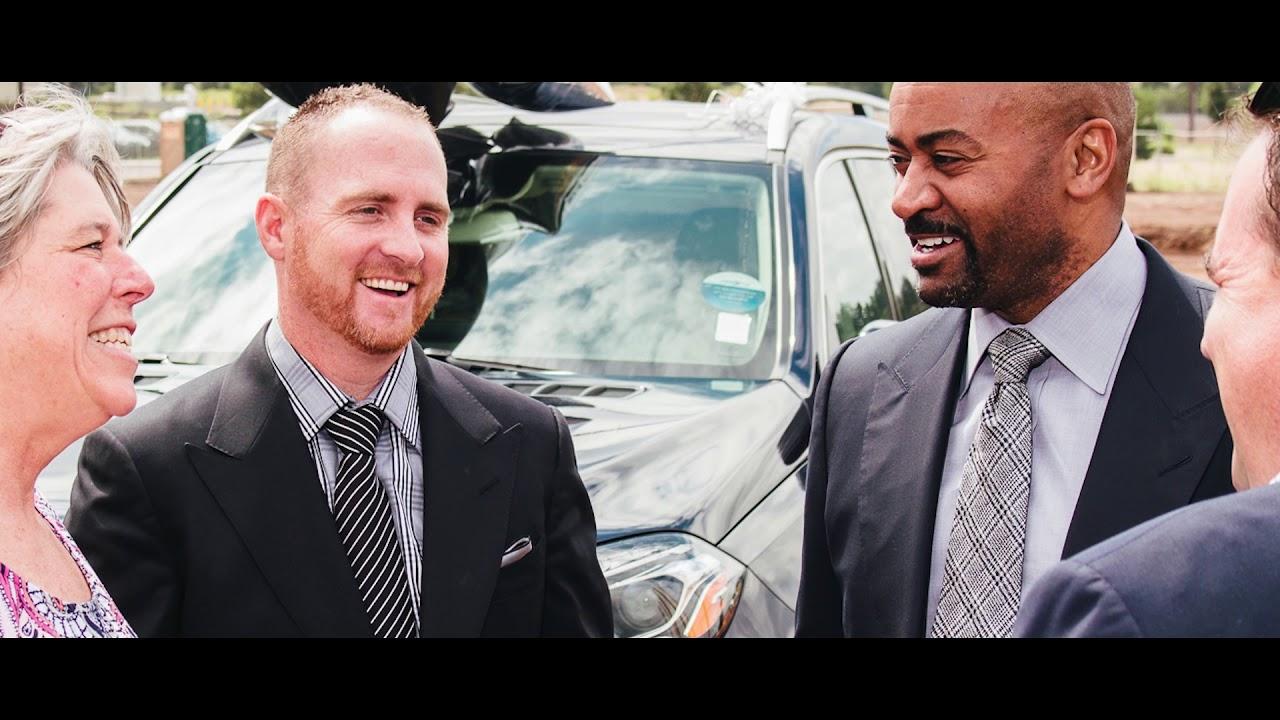 Mercedes-Benz of Flagstaff: Michael Martin and Trampus ...