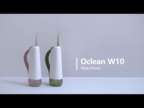How to Use Oclean W10 Water Flosser to Floss