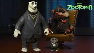 Zootopia Mr. Big and Kevin from TOMY
