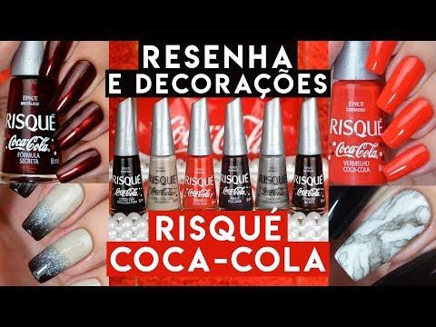 Coleção COCA-COLA Da RISQUÉ | Resenha + Decorações