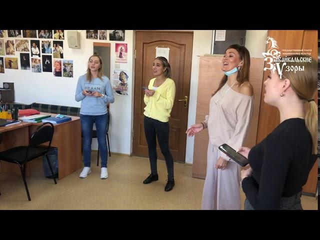 Распевка женского хорового состава, песня «Потеряла я колечко»