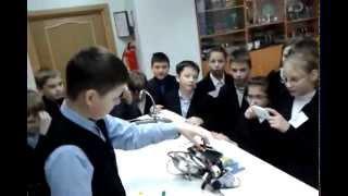 Лего-робот EV3 Сортировщик цветов